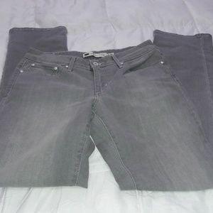 Levi's Bold Curve Light Gray Jeans